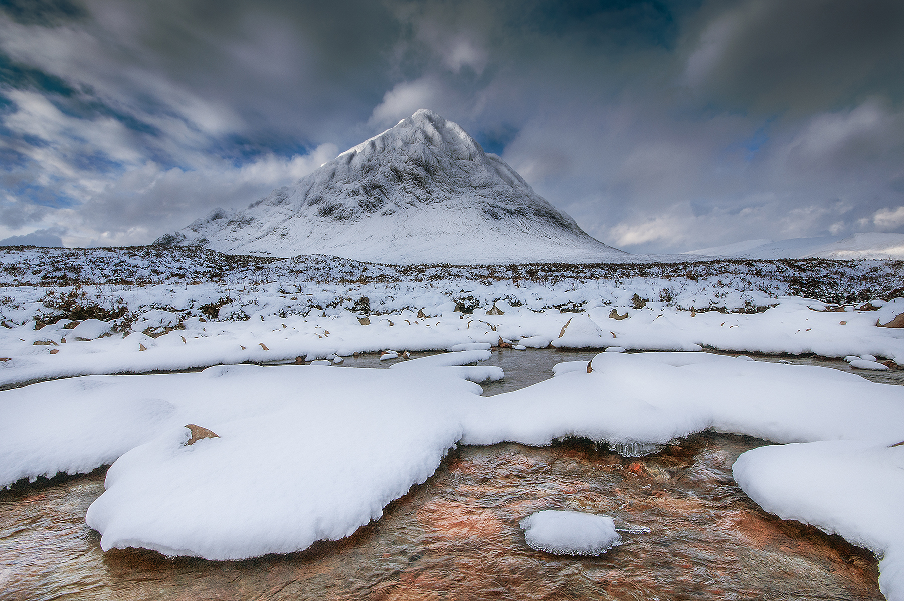 Snowy Buachaille by Keith Thorburn