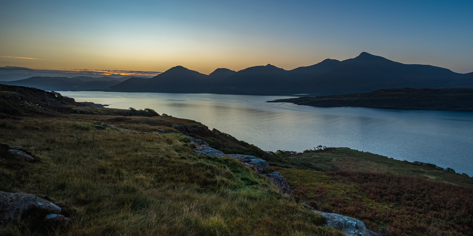 Sunrise over Loch na Keal