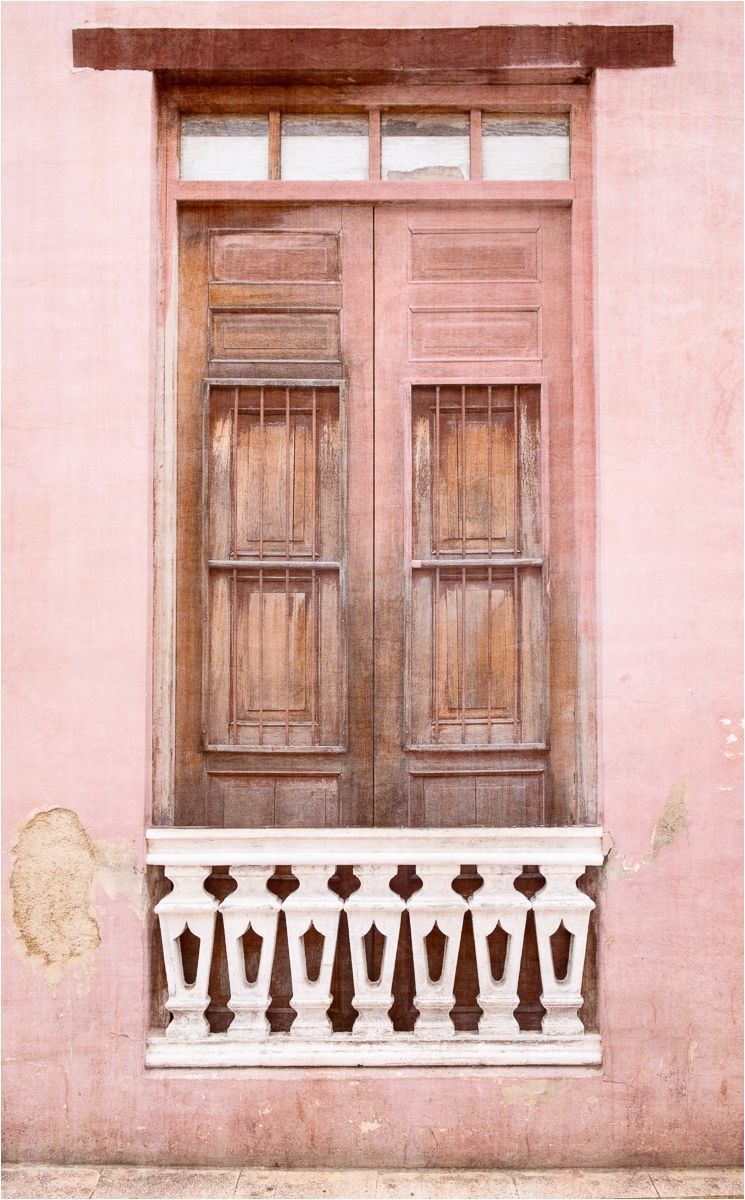Cuban pinks & blues 3 - shuttered