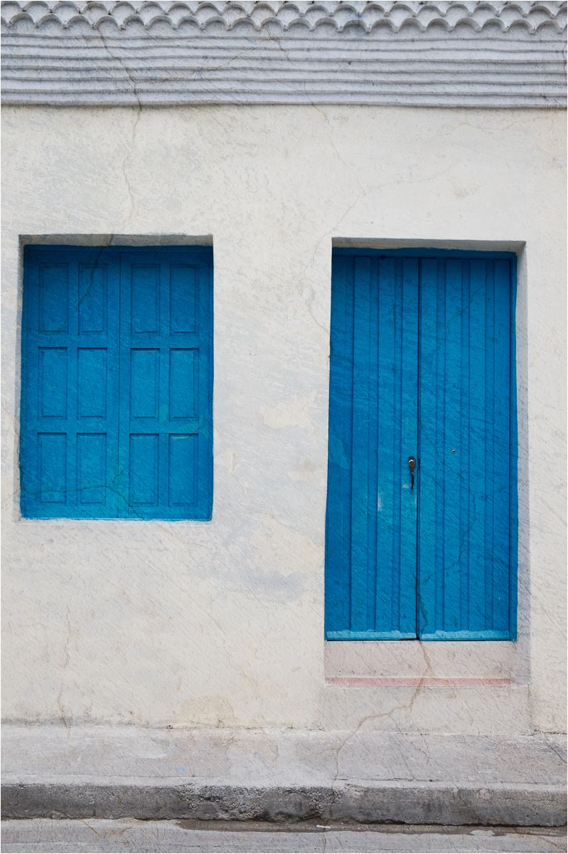 Cuban pinks & blues 4 - portals in blue
