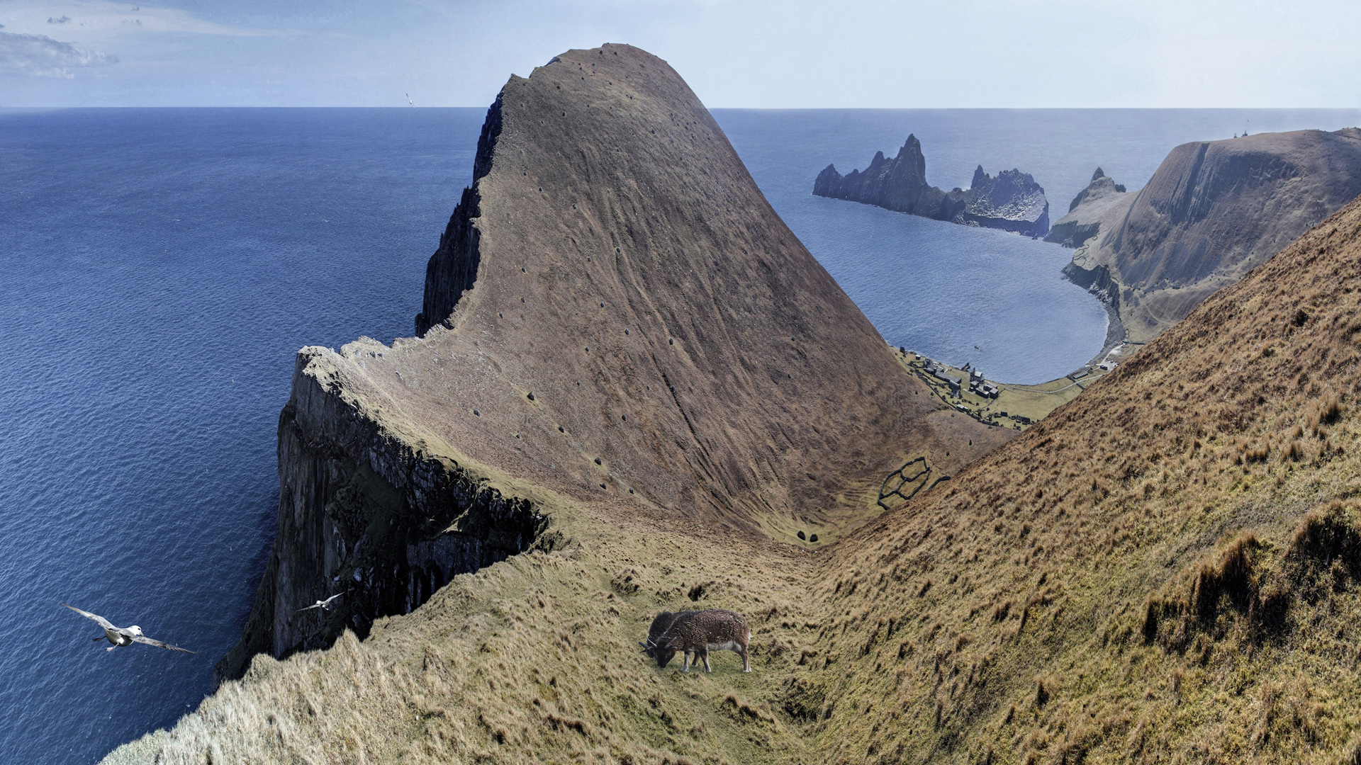 St kilda - edge of the world