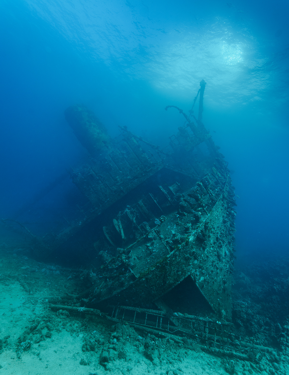 Wreck of the giannis d- red sea 1