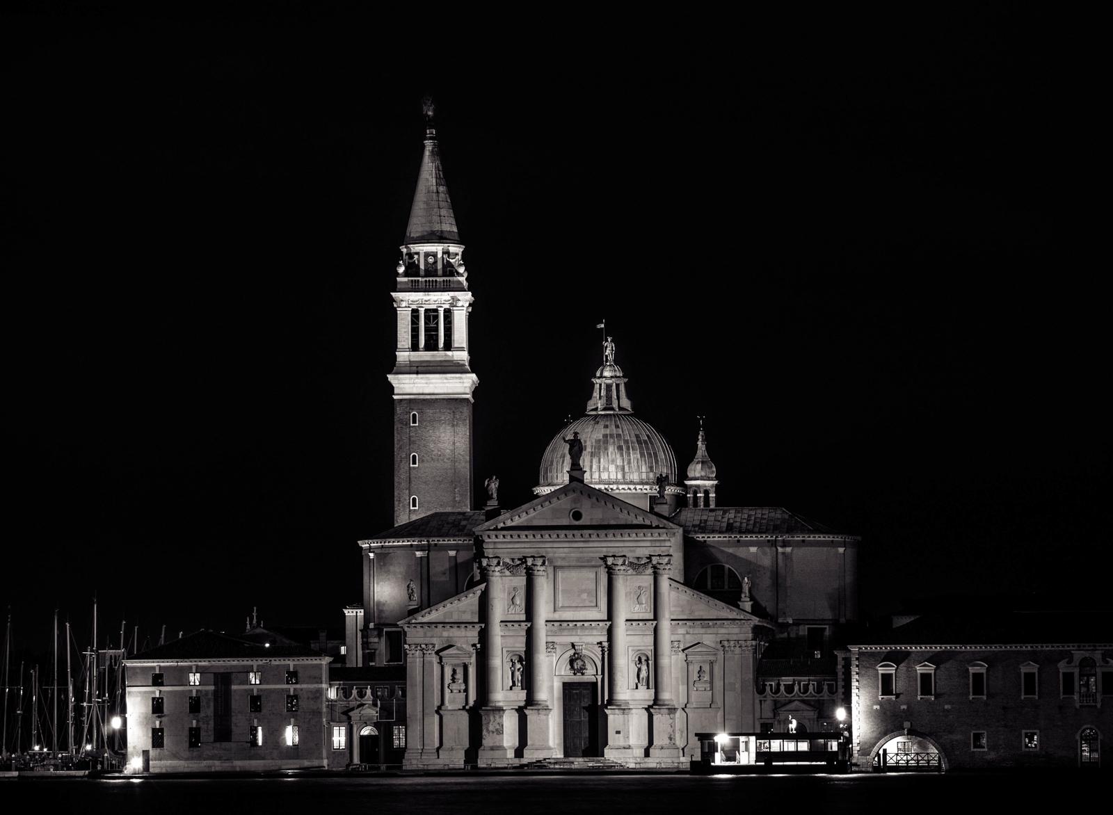 San giorgio after dark