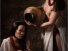 Goddesses bathing