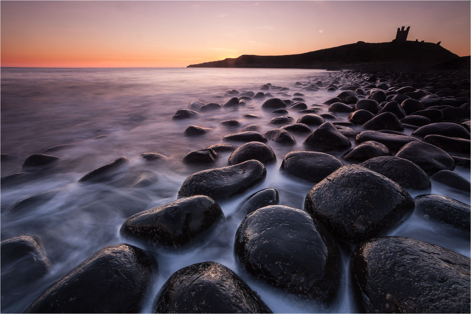 Dawn at dunstanburgh-1