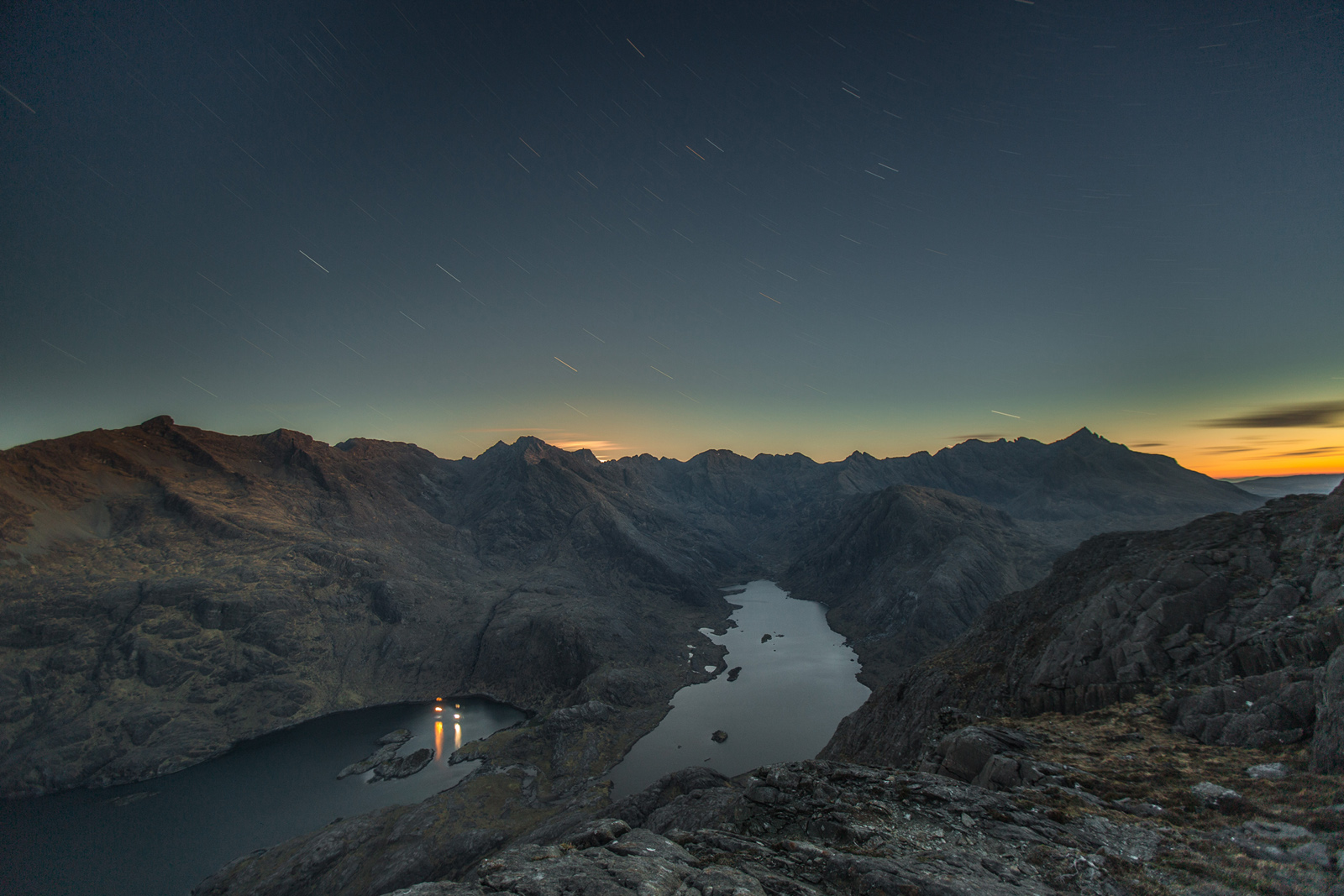 Dawn twilight- loch coruisk-4