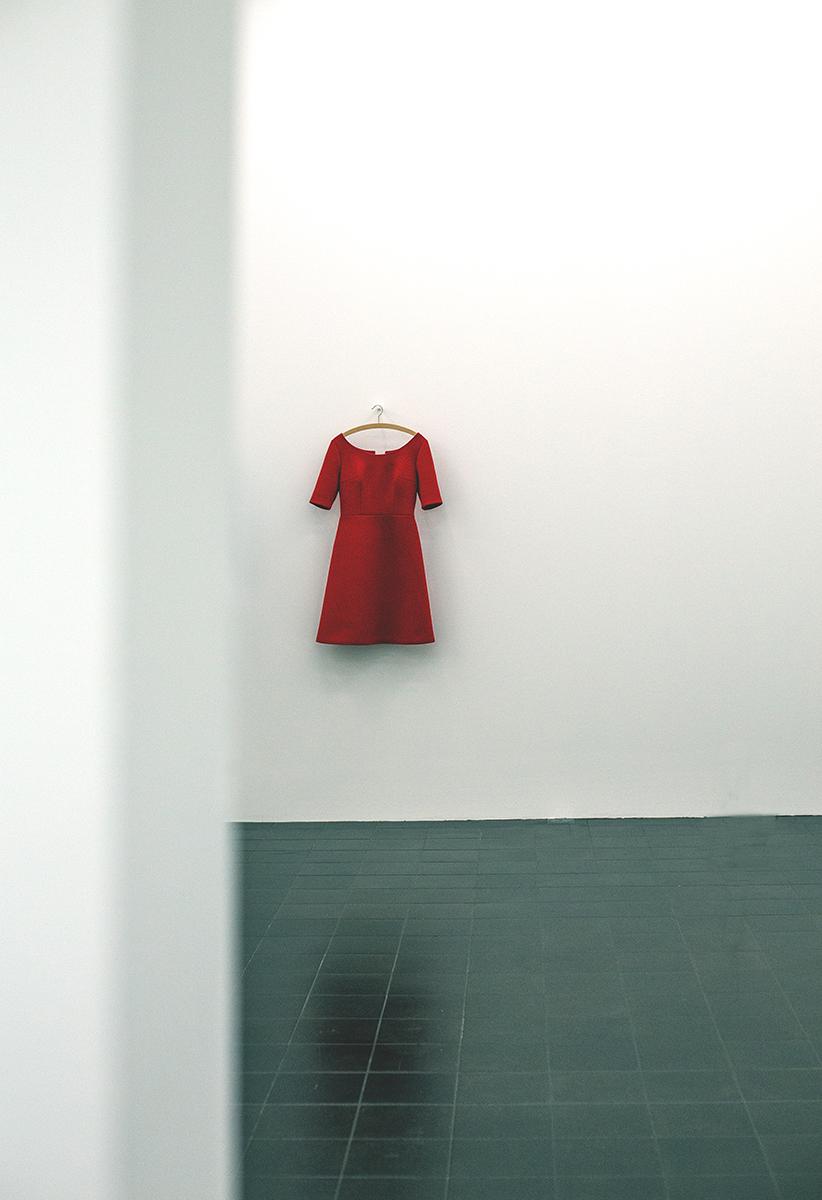 1-Red dress