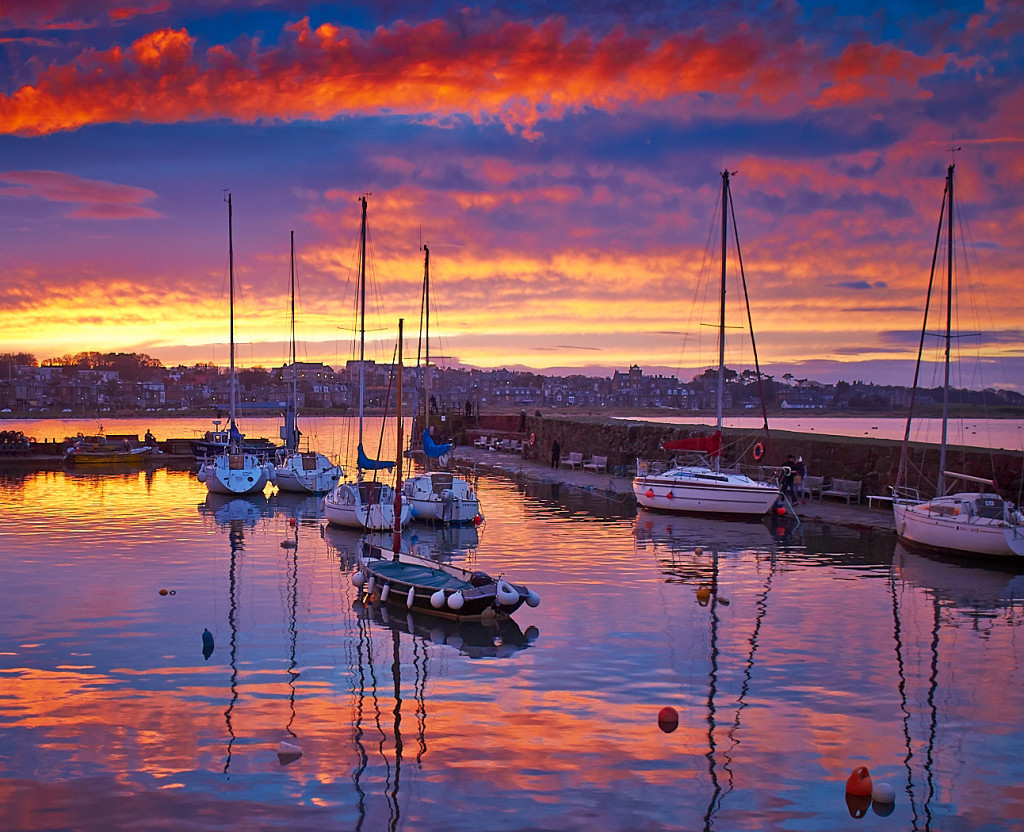 North Berwick Harbour by Graham Morrice