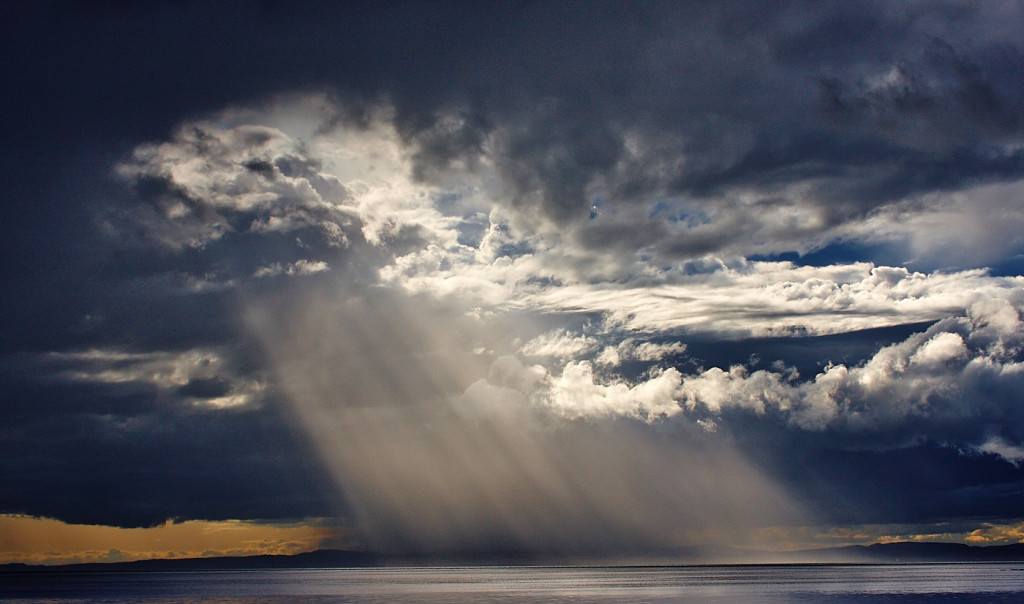 Sunbeam on the Firth by Graham Morrice