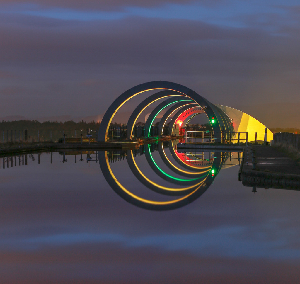 Falkirk Wheel by Neil Bain