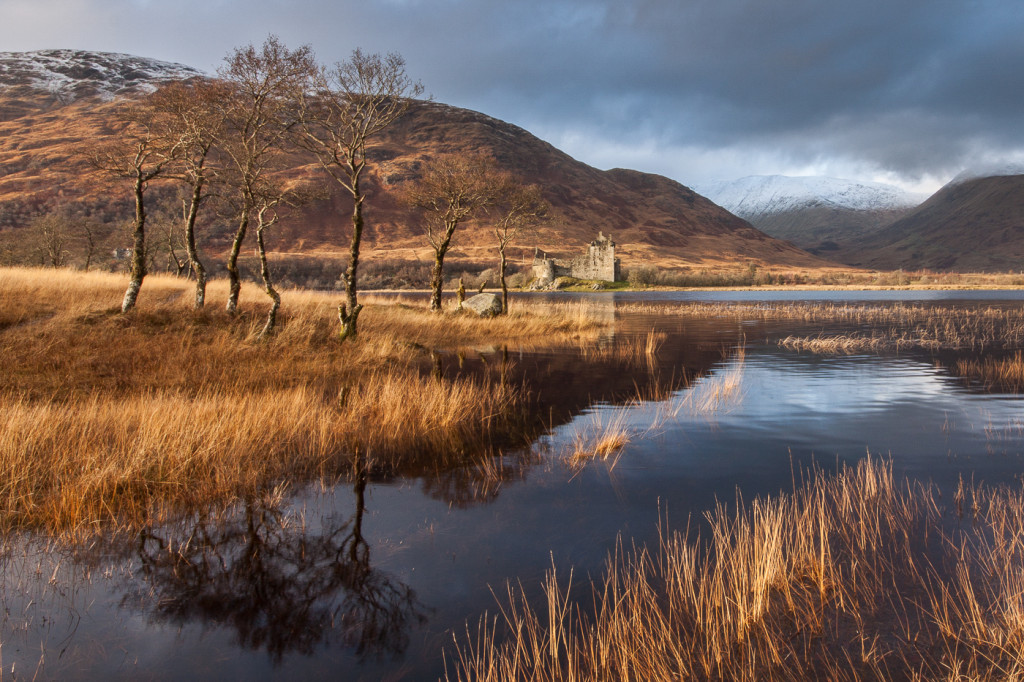 Loch Awe Autumn by Ken Gillies