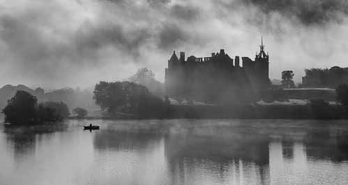 Misty Linlithgow Loch by Andy Donald