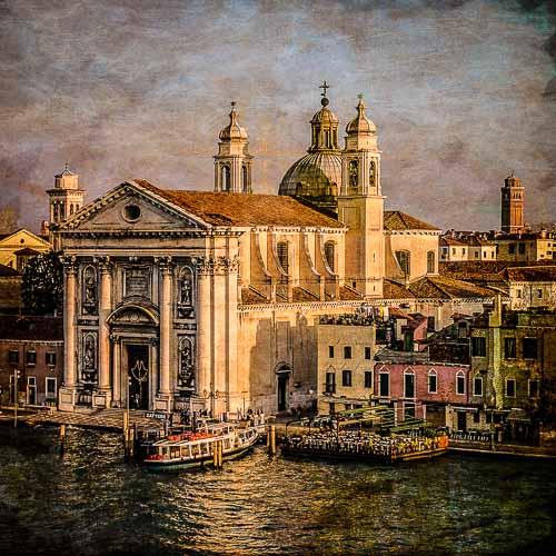 Venice - Canaletto Style by Doug Berndt