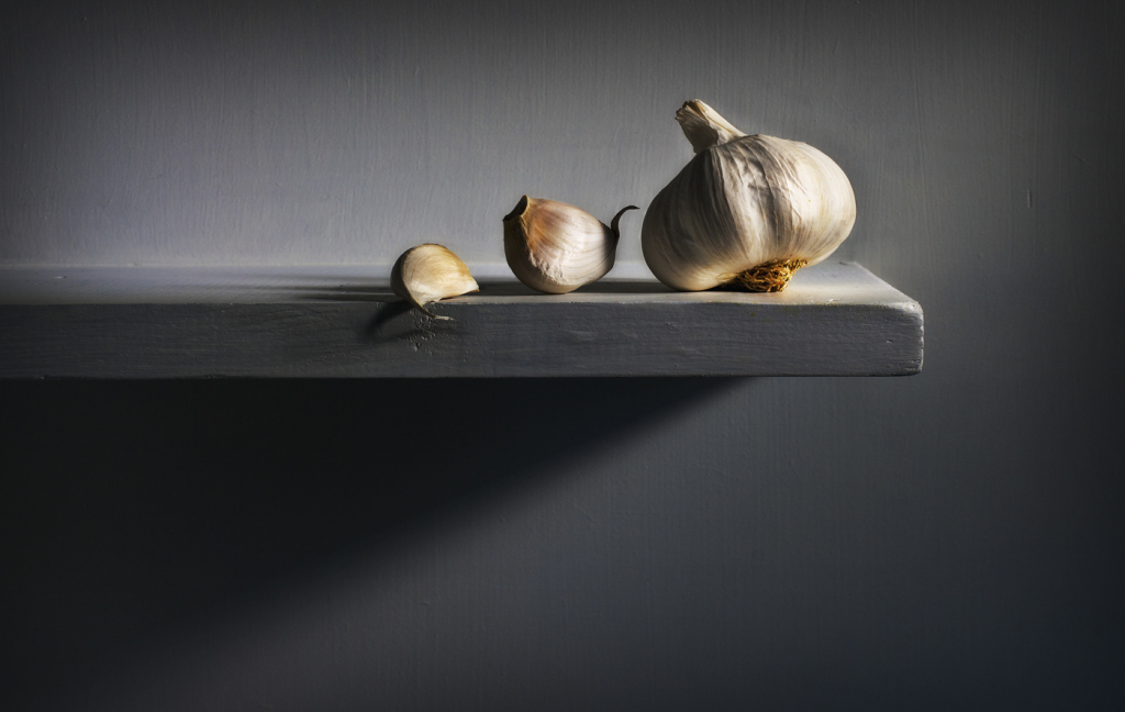 Garlic Still Life by Neil McCoubrey