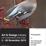 ART AND DESIGN LIBRARY EXHIBITION 2015