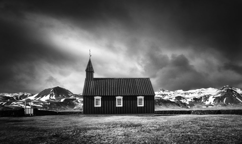 Black Church Dark Sky by Neil McCoubrey