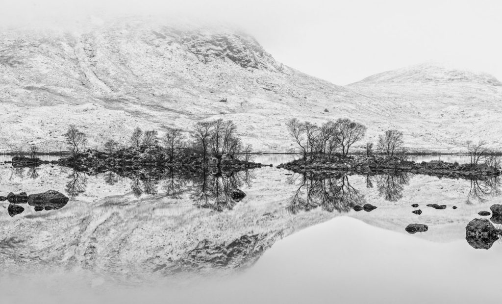 Rannoch Moor Reflections by Eric Robinson