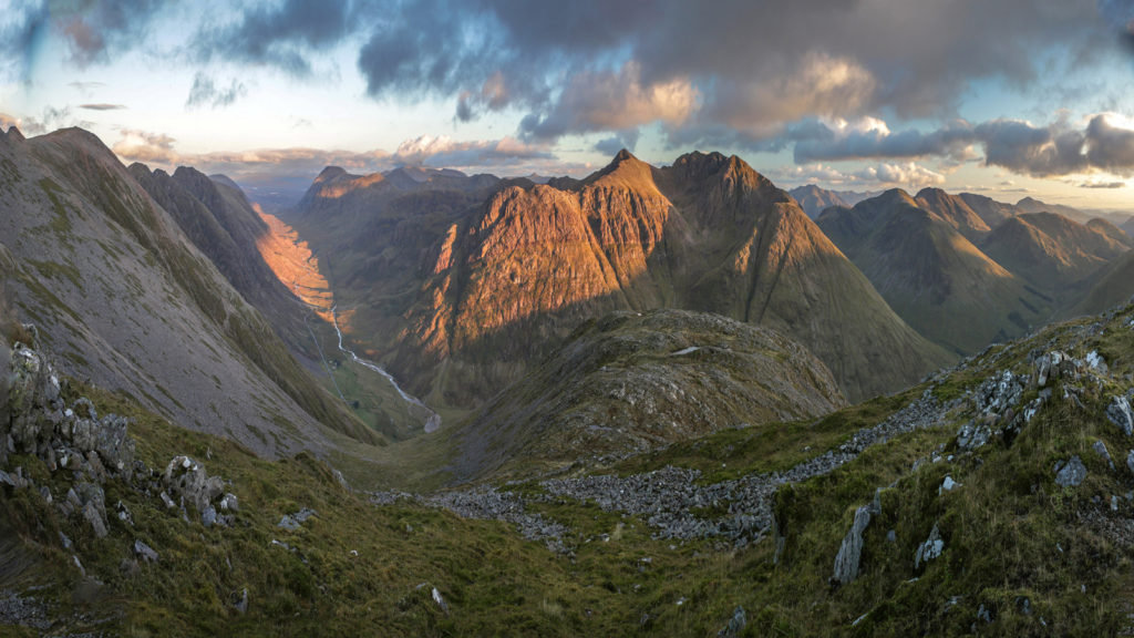 Glen Coe golden hour