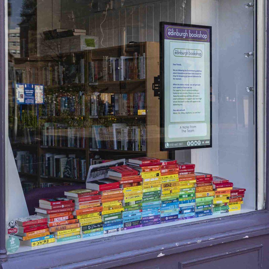 Bill Johnston - book shop