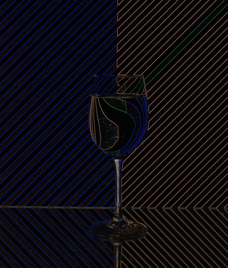 Doug Berndt - 3-Glass 1i_Glowing Edges