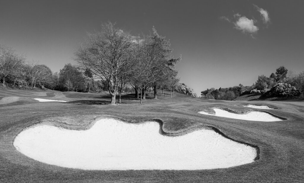 Doug Berndt - Mortonhall GC Trees and Bunkers-10