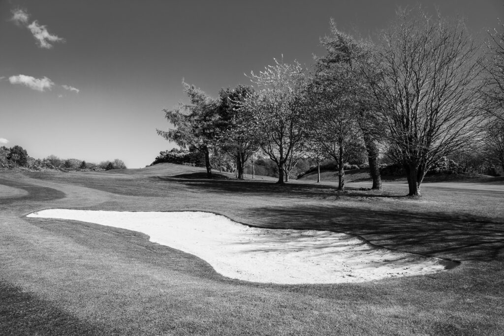 Doug Berndt - Mortonhall GC Trees and Bunkers-9