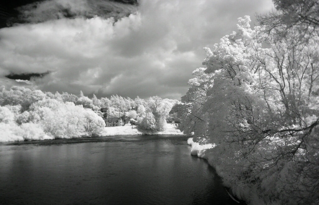 Edward Richards - IR_RiverTweedfromDryburghBridge