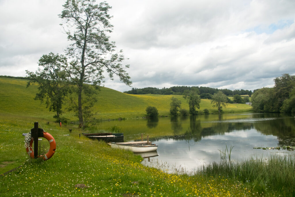 Louise Wallace - Clerkands Fly Fishery Loch