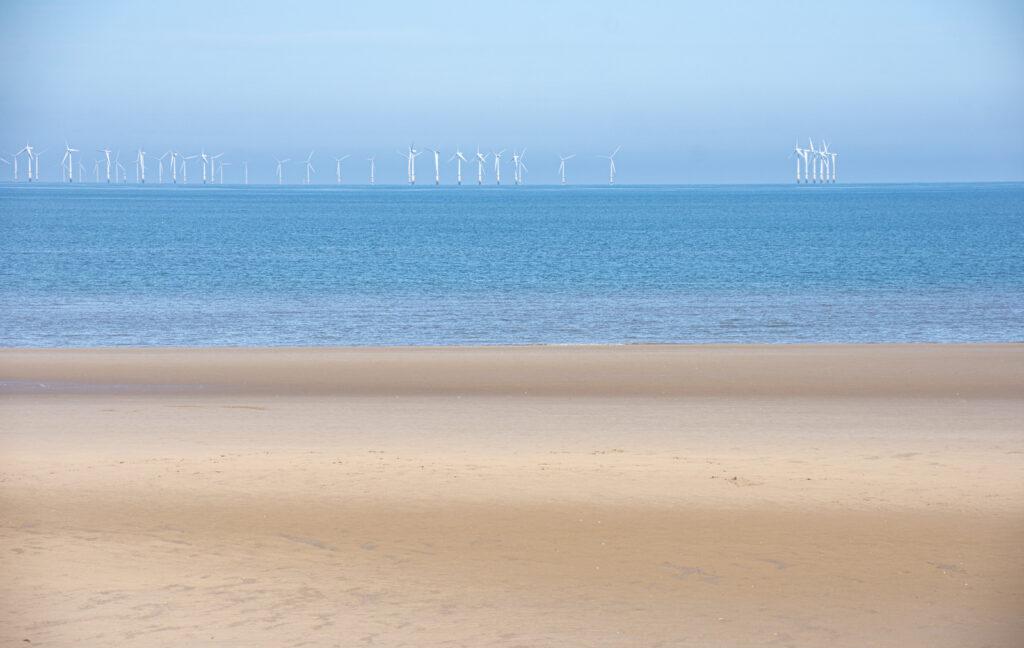 Margaret Salisbury - Calm sea soft sand