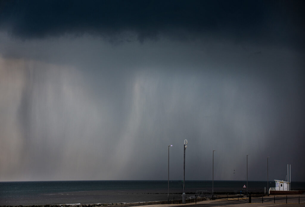 Margaret Salisbury - Sea storm clouds
