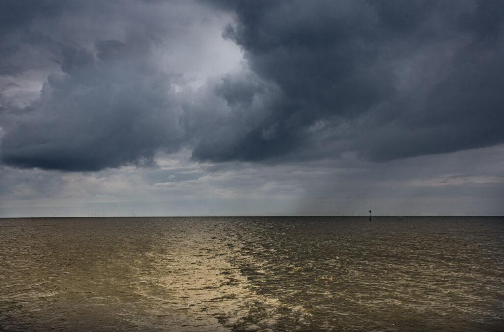 Margaret Salisbury - Stormy sky at sunset