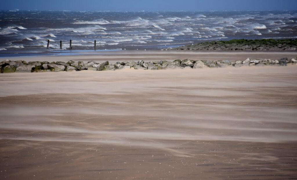 Margaret Salisbury - Windblown sea and sand