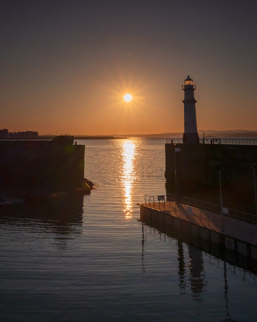 Martin Ashford - Newhaven Sunset (Almost)