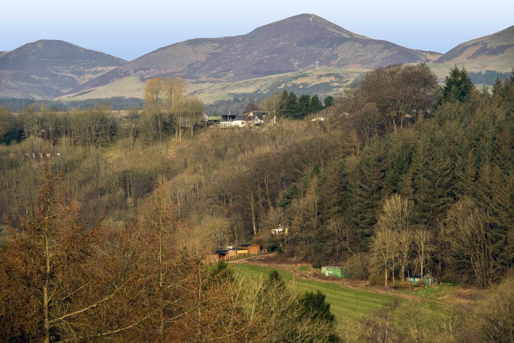 Robert Dewar - 4_Pentland Hills from Penicuik to Dalkeith Walkway