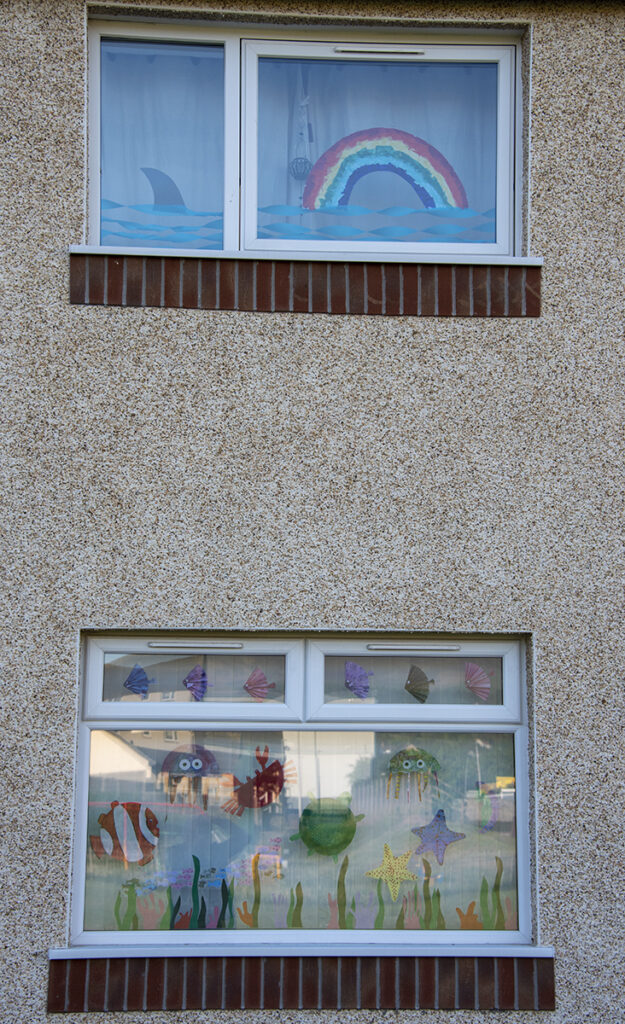 Robert Dewar - 6-Under the Sea (Best Decorated Window Competition For Hunter & Lass)